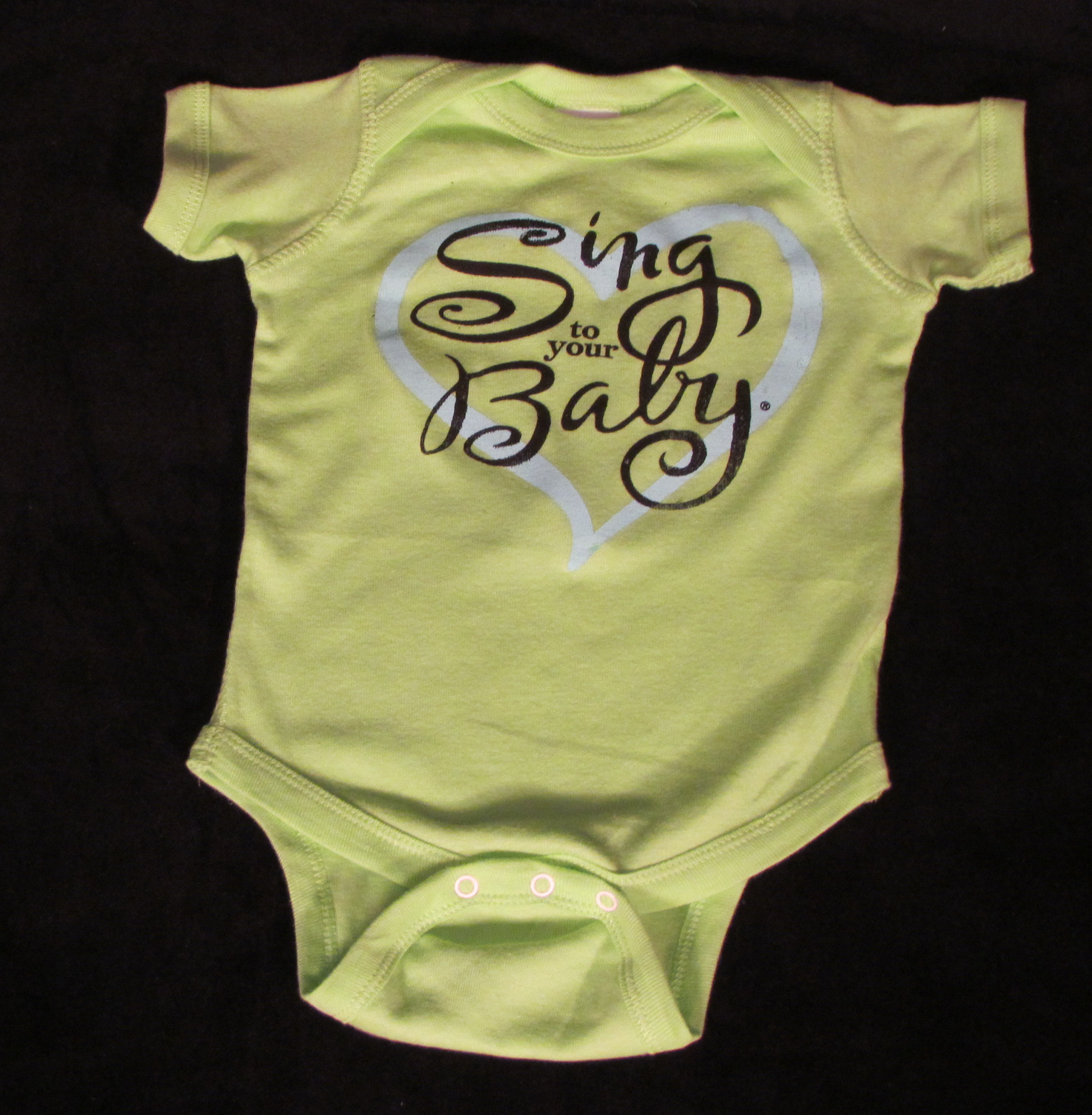 Sing To Your Baby Onesie (6 months)