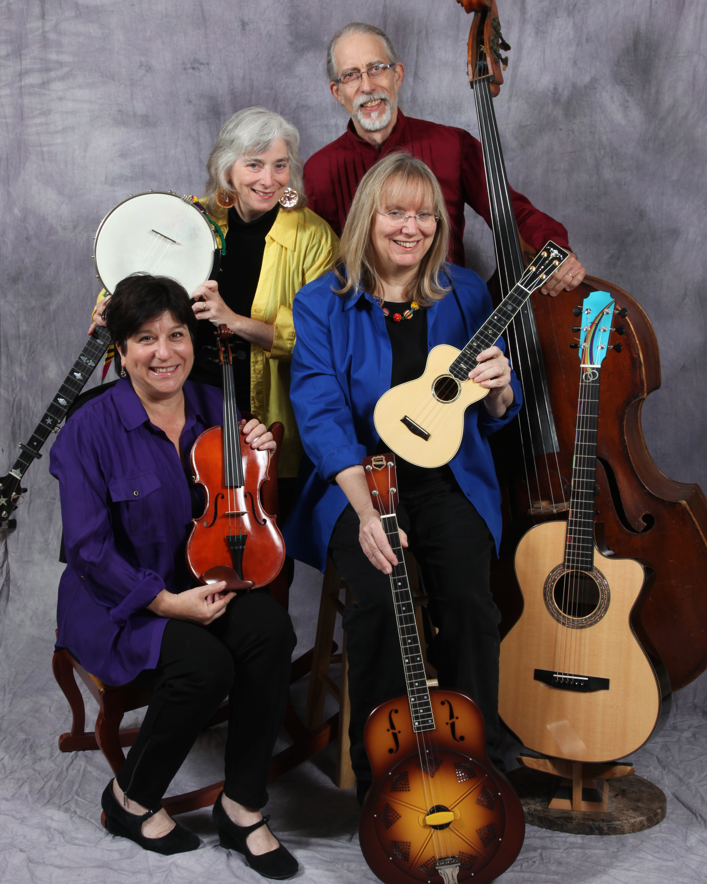 Cathy Fink & Marcy Marxer & The Whynots