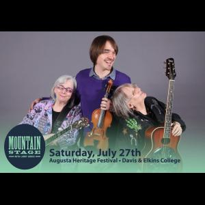 Fink Marxer & Gleaves -NPR's Mountain Stage with Larry Groce, Augusta Festival Concert @ Harper-McNeeley Auditorium - Myles Center for the Arts | Elkins | West Virginia | United States