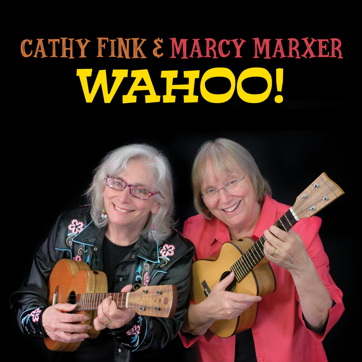 WAHOO! Ukulele CD Cover image