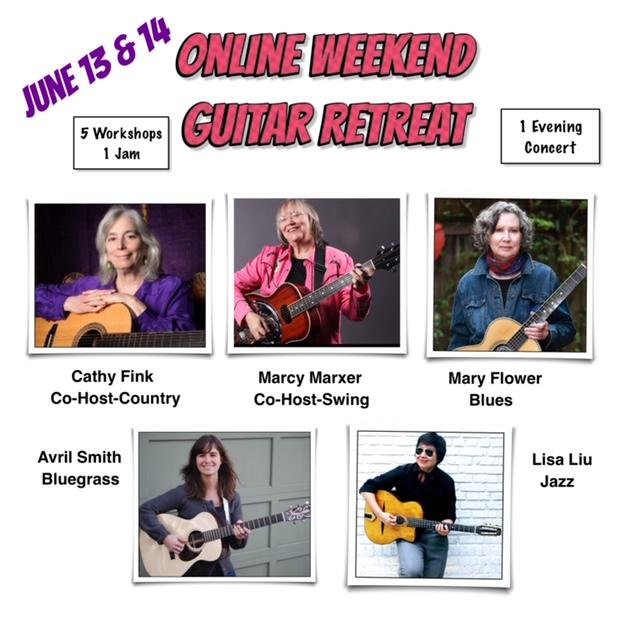 online guitar retreat