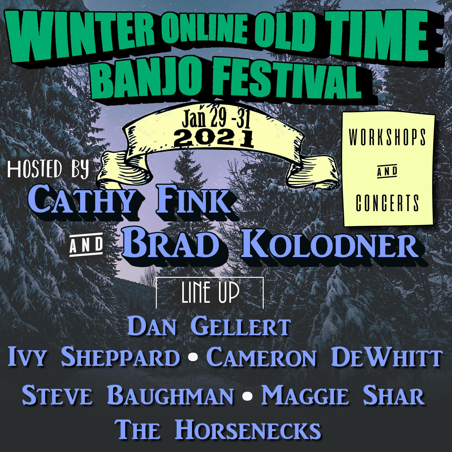 Winter Banjo Fest Square